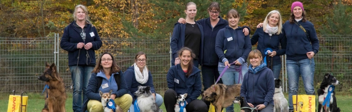 Bericht des offenen Rally Obedience Turnier am 4. November 2017